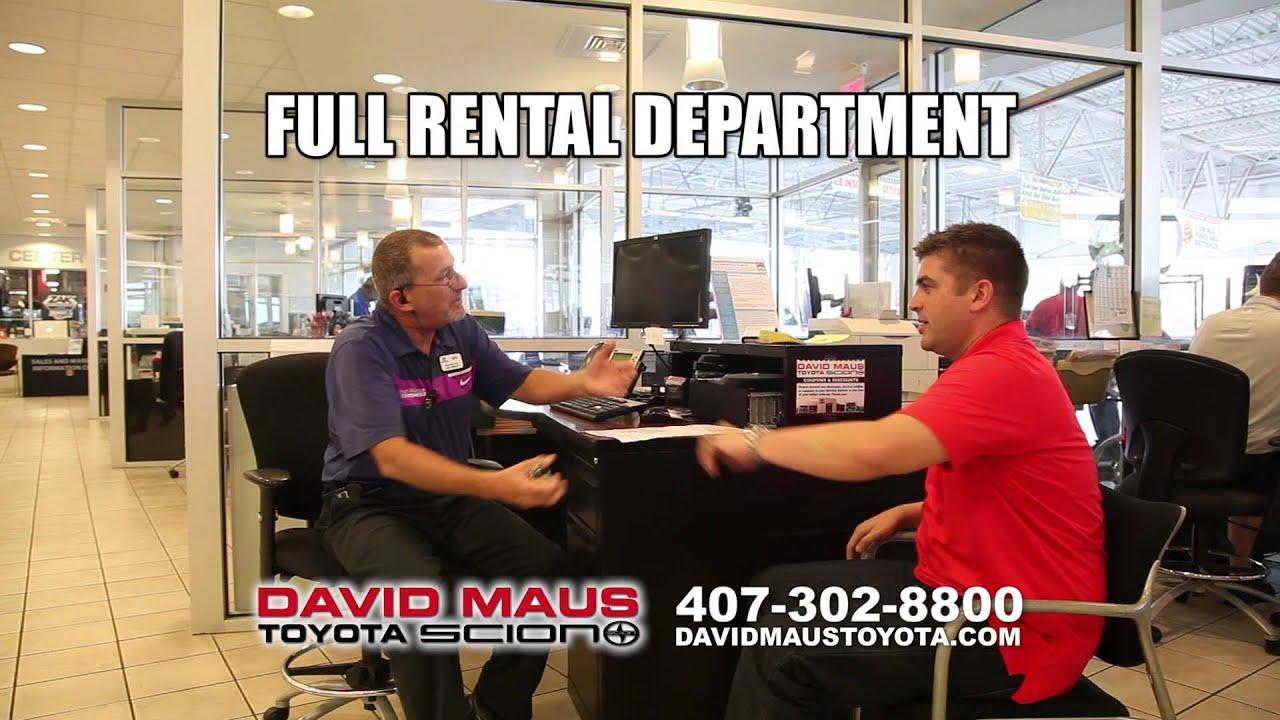 Exceptional David Maus Toyota   Service Center