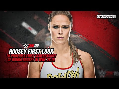 FIRST LOOK: Ronda Rousey WWE 2K19 Screenshot Revealed