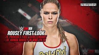 FIRST LOOK: Ronda Rousey WWE 2K19 Screenshot Revealed
