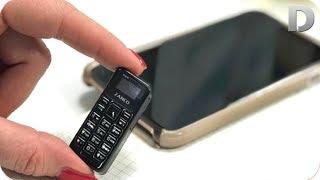 Дунёда шундай кичкина телефон хам борми