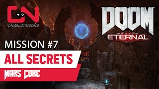 Doom Eternal Mission 7 ALL collectible locations - Mars Core Secrets guide Slayer Key, Cheats & more