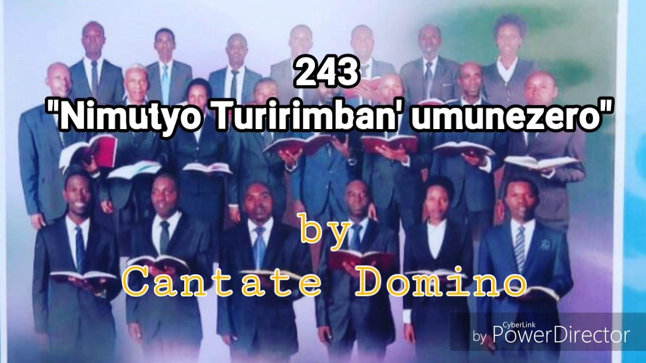 243. Nimutyo turirimban' umunezero (kinyarwanda sda hymn)