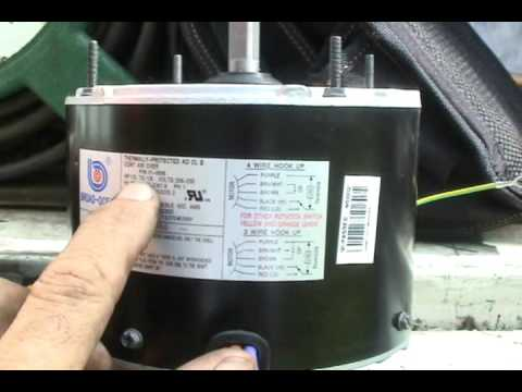 Hvac Bard Condensing Fan Motors Youtube