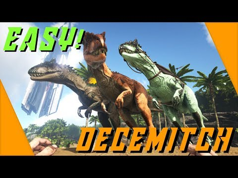 How to SOLO tame a high level Allosaurus EASY! in Ark: Survival Evolved