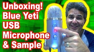 Unboxing: Blue Yeti USB Microp…