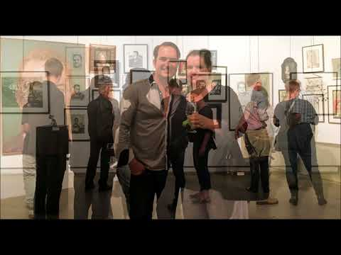 ME, MYSELF  &  I,  Collaborative Portraite of Stuart Trent ,  Pretoria Art Museum 28 02 2018