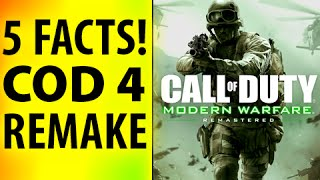 5 FACTS on Modern Warfare Remastered Xbox One, PS4, Call of Duty Infinite Warfare Bundle