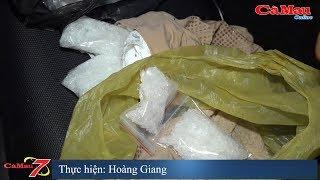 Cà Mau: Bắt đôi nam nữ tàng trữ trái phép chất ma túy trên đường Phan Ngọc Hiển, phường 9
