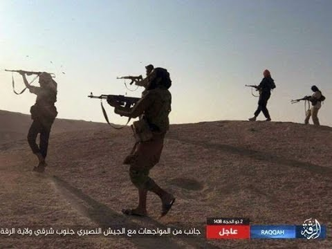 ISIS nears total defeat in Iraq as their fighters   some wearing England shirts   are capt