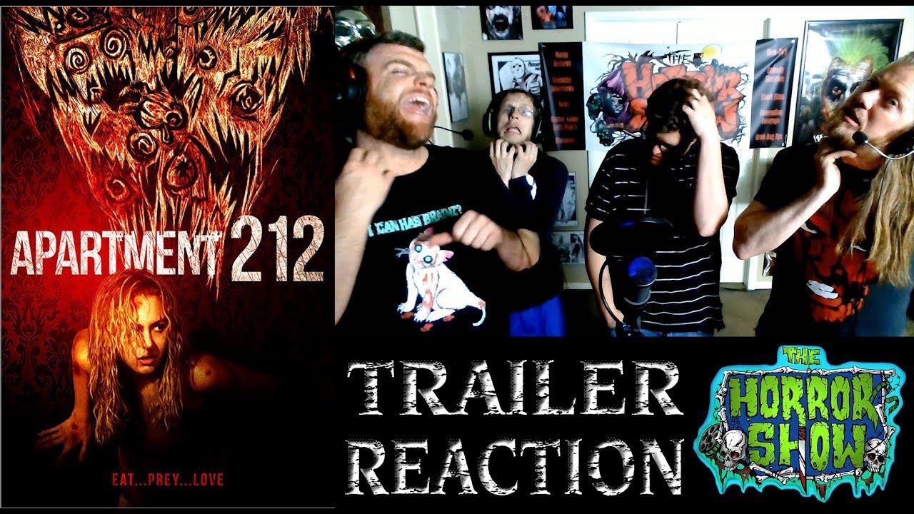 Apartment 212 2018 Horror Movie Trailer Reaction The Show