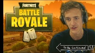 FORTNITE NINJA -TO BE CONTINUED MEME COMPILATION