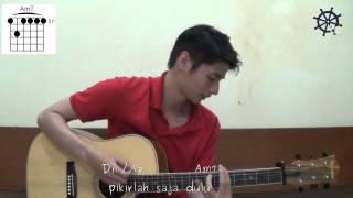 Akustik Gitar - Belajar Lagu (Siapkah Kau Tuk Jatuh Cinta Lagi - HiVi!)