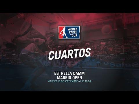 DIRECTO | CUARTOS Madrid Open | World Padel Tour 2015
