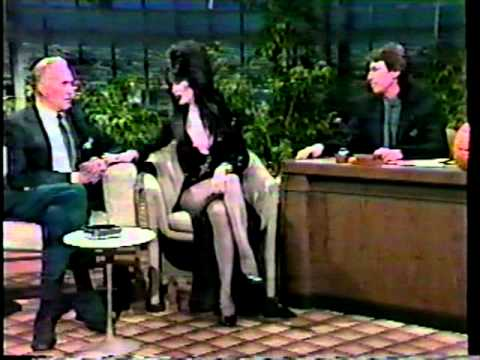 Elvira Mistress of the Dark -  Vincent Price 1986 Tonight Show   - David Brenner hosts