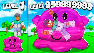 BUILDING A LEVEL 999,999,999 ROBLOX SLIME FACTORY