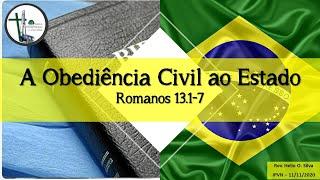 05 - Romanos 13.1-7 - Obediência Civil ao Estado