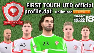 First touch (official) profile.dat (Pro) download now