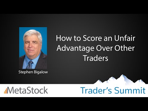 How to Score an Unfair Advantage Over Other Traders - Steve Bigalow