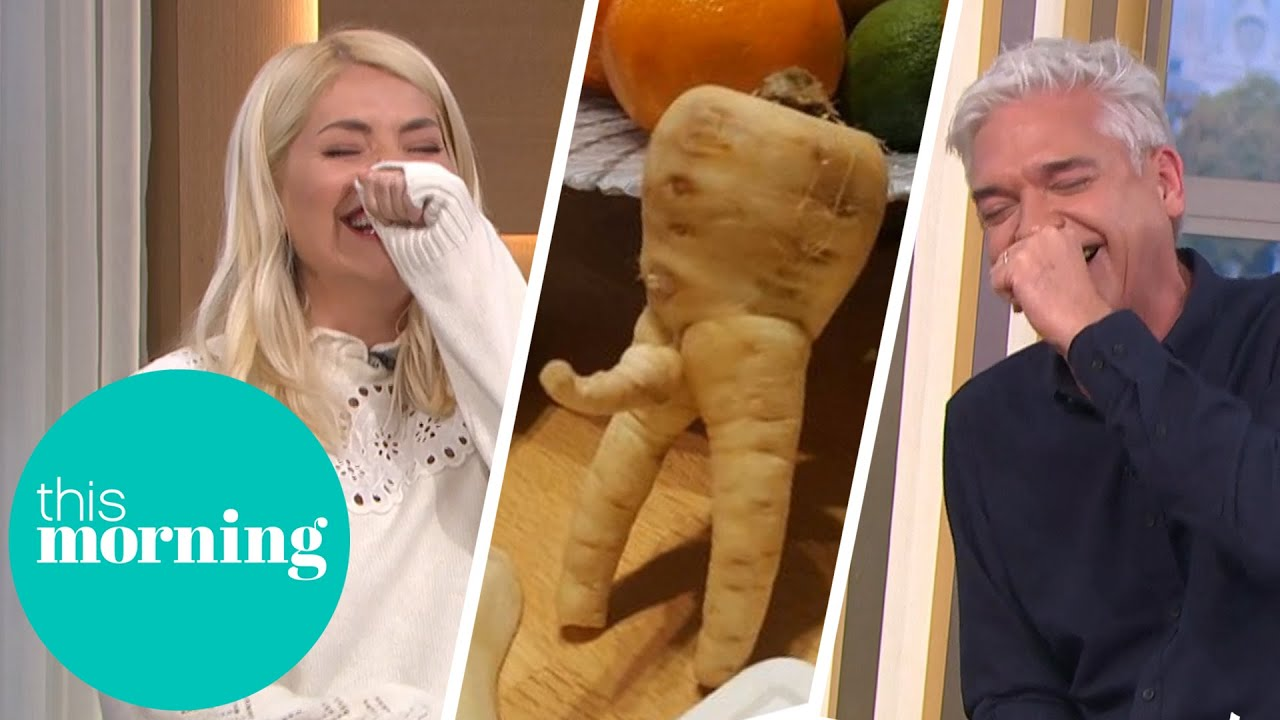 Download Phillip & Holly Lose It Over Rude Vegetables | This Morning