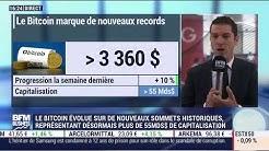 Bitcoin a son nouveau record historique de + 3000$ - 07/08