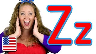 """The Letter Z Song (US """"Zee"""" version) - Learn the Alphabet"""