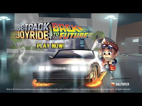Jetpack Joyride: Back to the Future Trailer