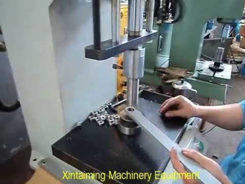 Desktop Hydraulic Press For Pressing Riveting Youtube