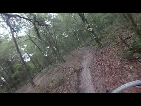 KTM 500xcw on a Single Track Track in Florida