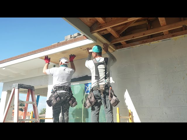 Do I have to use plywood for the HB Soffit System installation? Hardie Boys FAQ #1