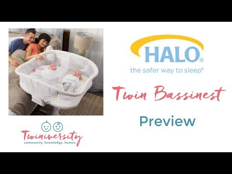 HALO Twin Bassinest Preview | ABC Kids Expo 2017