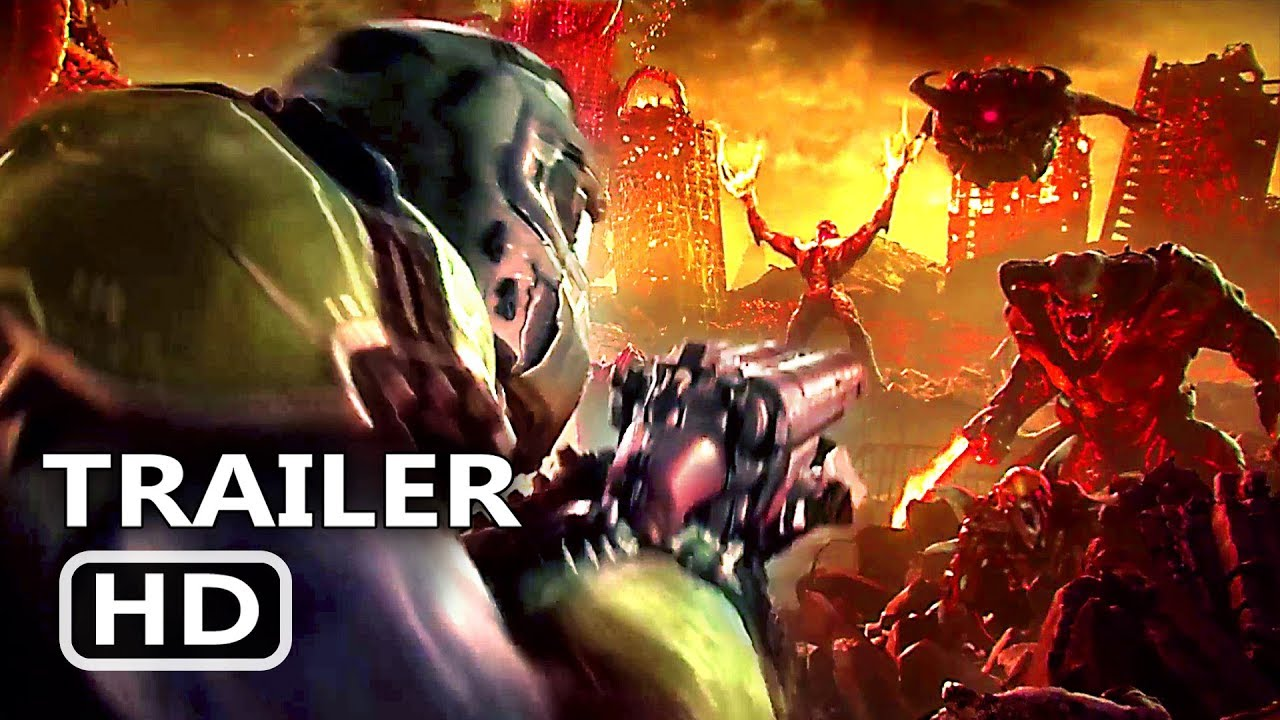 DOOM 2 Official Trailer (2019) E3 Doom Eternal Game HD Game trailer