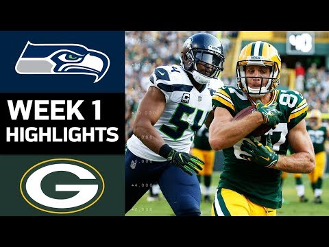 Seahawks vs. Packers | NFL Week 1 Game Highlights