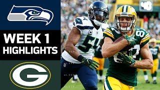 Seahawks Vs. Packers | Nfl Week 1 Game Highlights