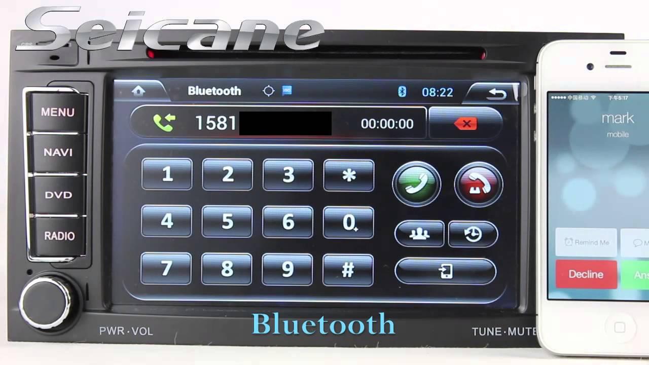 android 4.2 2004-2014 vw volkswagen transporter sat nav audio