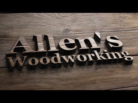 small dehumidifier wood kiln by Allen's Woodworking.com