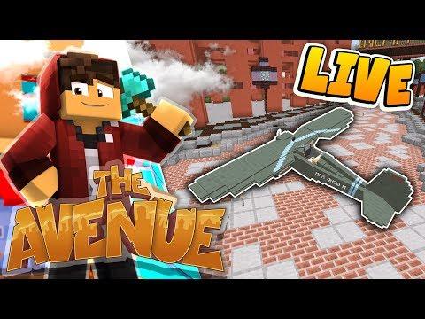 Minecraft: The Avenue SMP! *LIVE* - Plane Struggles..