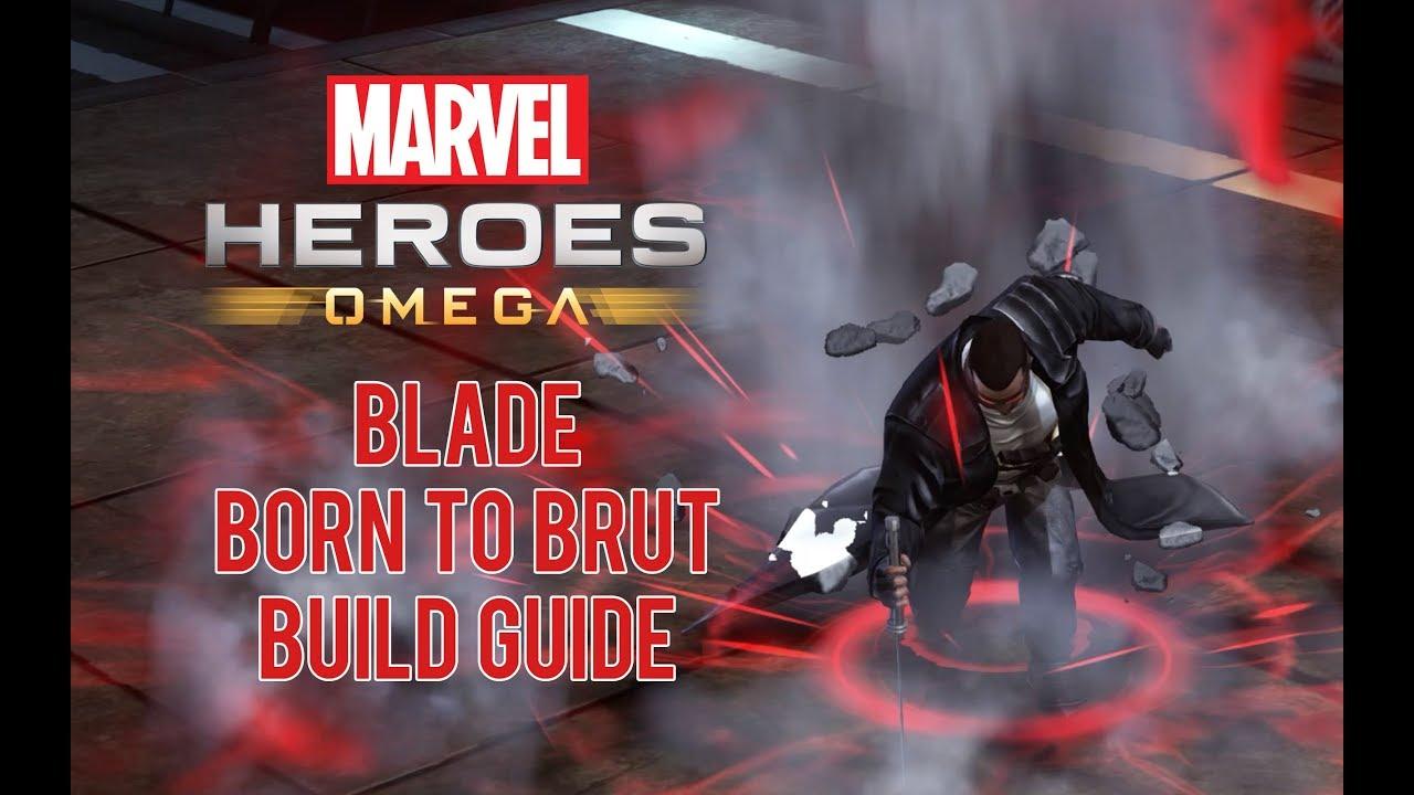Blade Marvel Omega Heroes Build