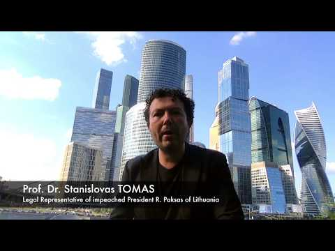 Avoiding mistakes of the impeached President of Lithuania in litigation - Stanislovas Tomas