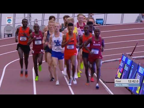 2018 NCAA Indoor Track Championship Men's 5000m