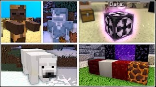 Minecraft has 3 New Mobs, 4 New Blocks, Fossils, and More!