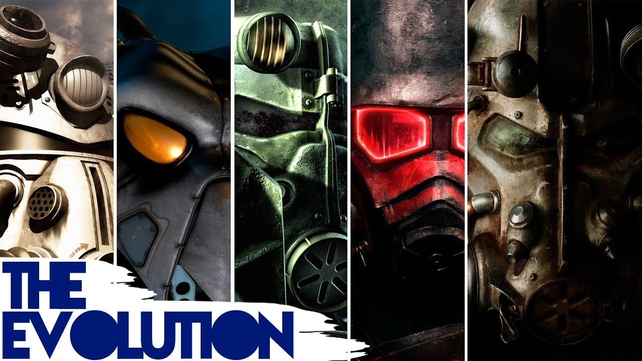The Evolution of Graphics: Fallout (1997 -2015) - YouTube