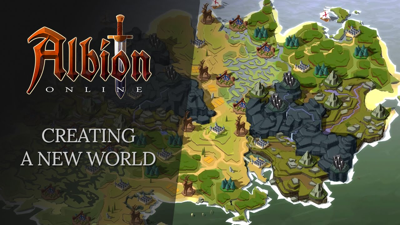 Albion Online Creating A New World Youtube