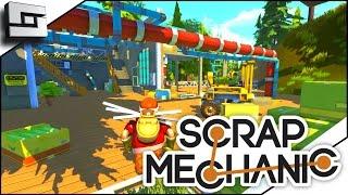 scrap mechanic ep 1 massive potential gameplay