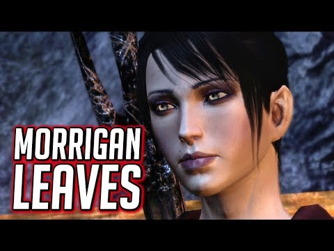 Dragon Age: Origins - Morrigan Abandons the Party if you Refuse to Kill Flemeth |