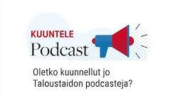 Rahat ja verot – näin kuuntelet Taloustaidon podcasteja