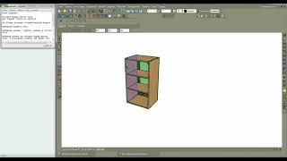 Делаем пазы для задней стенки  Базис-Мебельщик 8