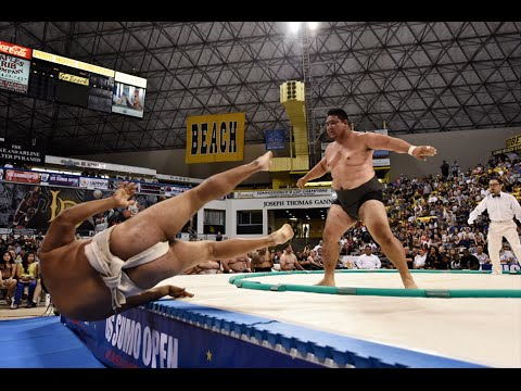 2014 US SUMO OPEN – Full Universal Sports Network TV Broadcast