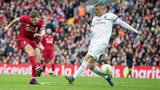 Liverpool Legends v AC Milan Glorie | Steven Gerrard,  Kaka, Jamie Carragher, Paolo Maldini and more