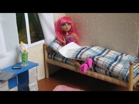 видео: Деревянная кровать для кукол своими руками