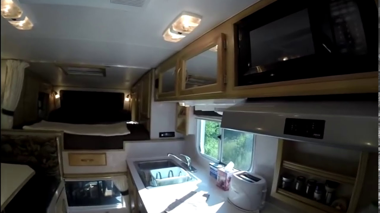 Tour Of My Truck Camper Interior RV Life In A Truck
